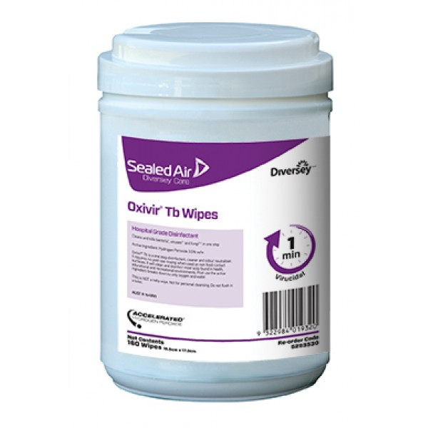 Oxivir 174 Tb Wipes 12x160 Wipes Cleaner Disinfectants