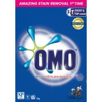 OMO Front and Top Active Clean Laundry Powder 10 kg (2 x 5kg)