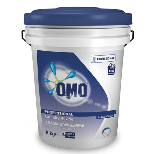 OMO Laundry Powder (Active Clean) T&F Loader 8kg
