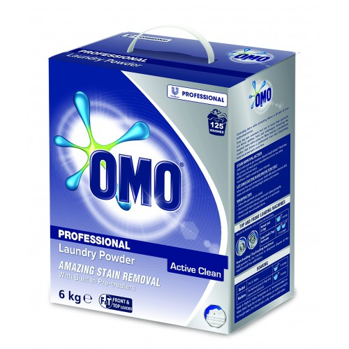 OMO Laundry Powder (Active Clean) T&F Loader 2 x 6kg